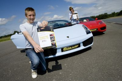 Junior Supercar Driving Experience Gift 2