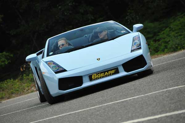 Junior Lamborghini Supercar Driving Experience Gift