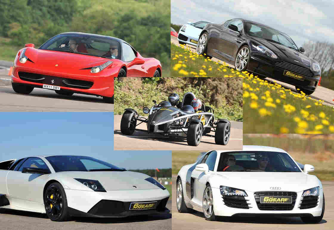 Extreme Supercar Driving Experience Gift