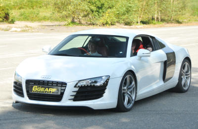 Audi R8 Junior Supercar Driving Experience Gift 2
