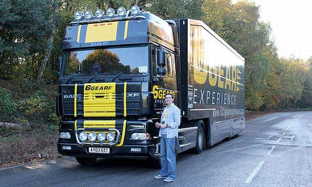 Truck Driving Supercar Driving Experience Thrill Gift